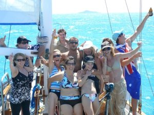 Whitsunday Fun Race friends