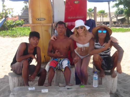 Bali Legian beachfront