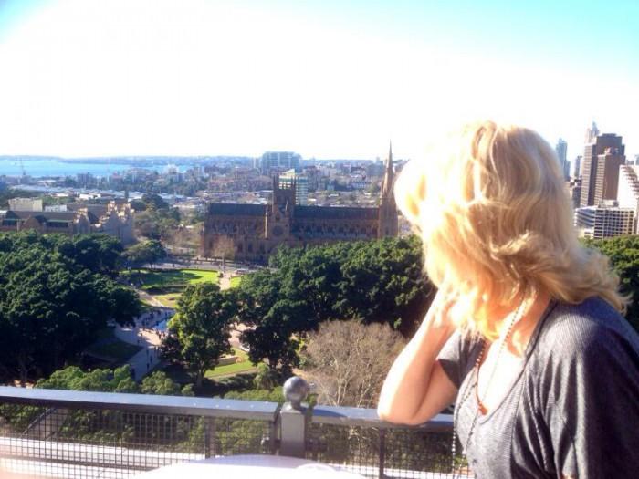 Sydney view from SheratononthePark