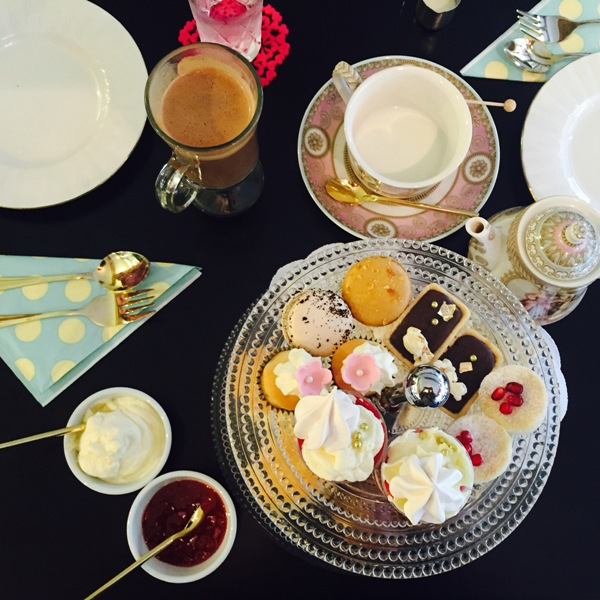 High Tea at Soiree Cakes