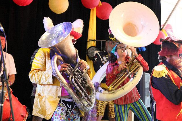 Honk Band - Illawarra Folk Festival - image credit John Aitken