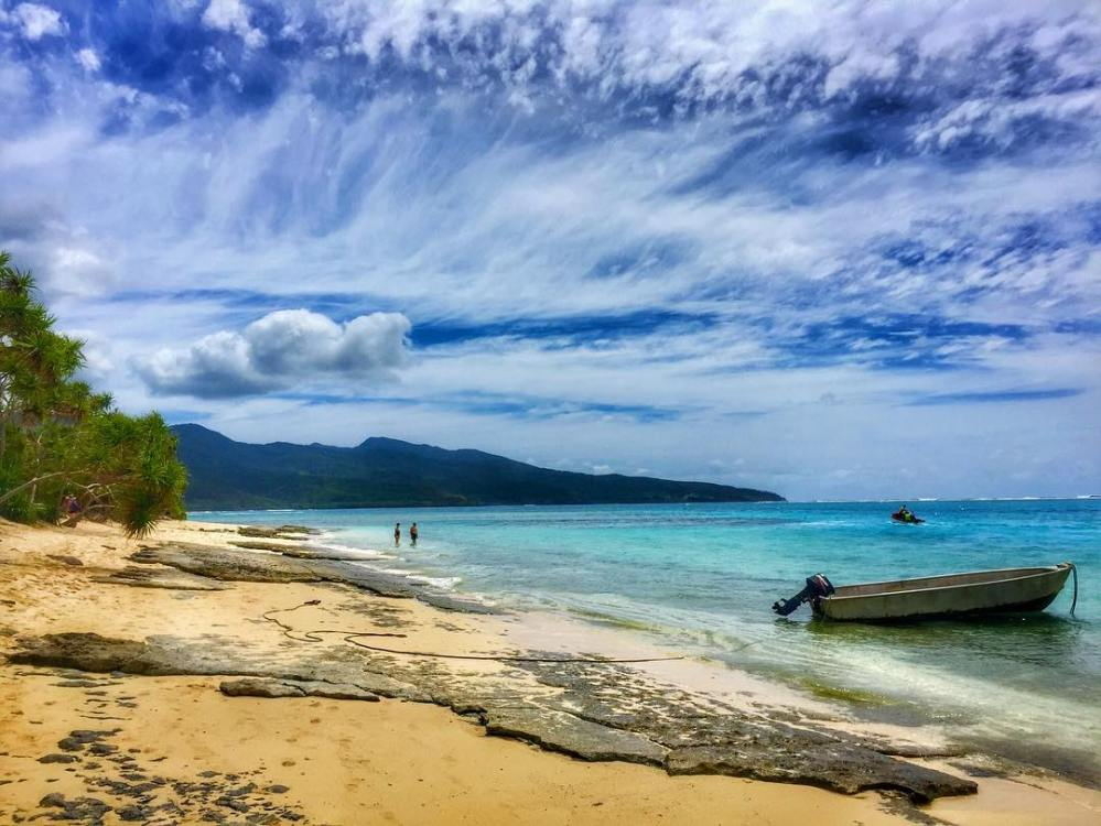 Mystery Island, Vanuatu - image by Wendy Norman