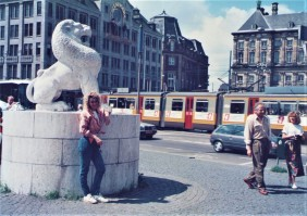 Statue in Amsterdam street