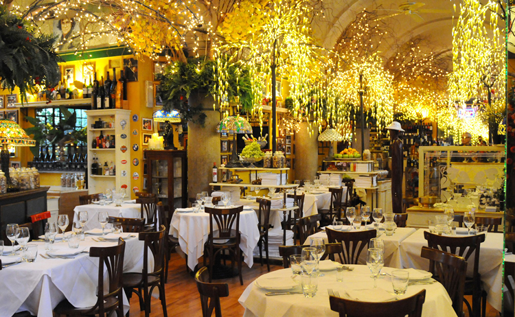 Inside La Briciola in Milan http://www.labriciola.com/