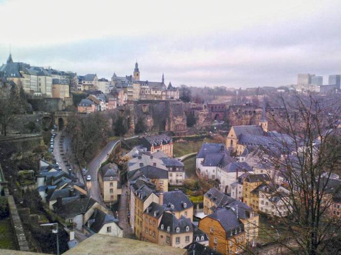 LuxembourgCityView