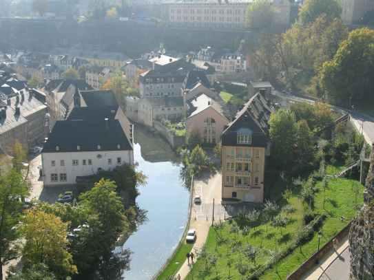Luxemburg-Grund-von-Corniche