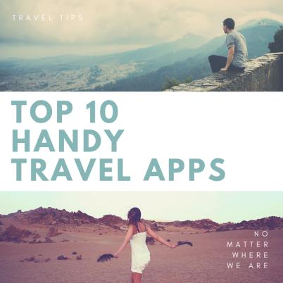 Top 10 Handy Travel Apps