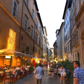 Laneways behind Piazza Navona