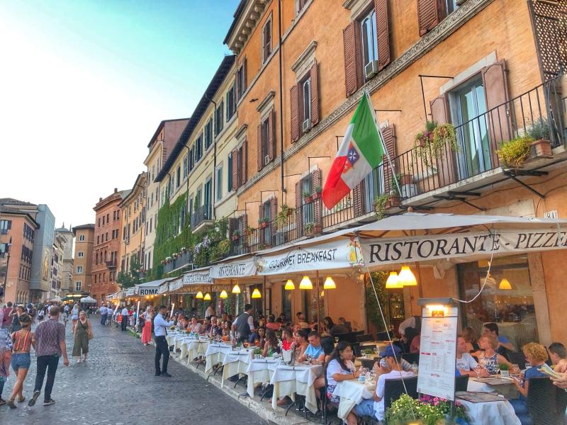 Piazza Navona Ristorantes