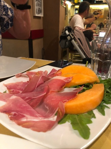 Proscuitto and Melone