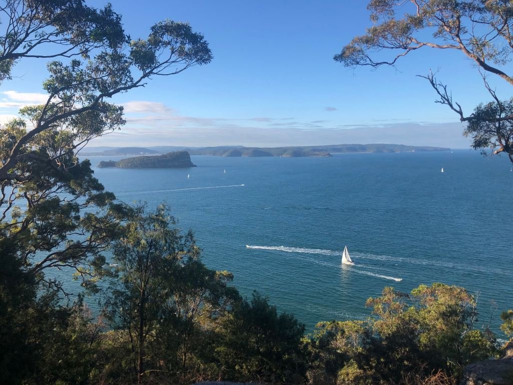 West Head Lookout view